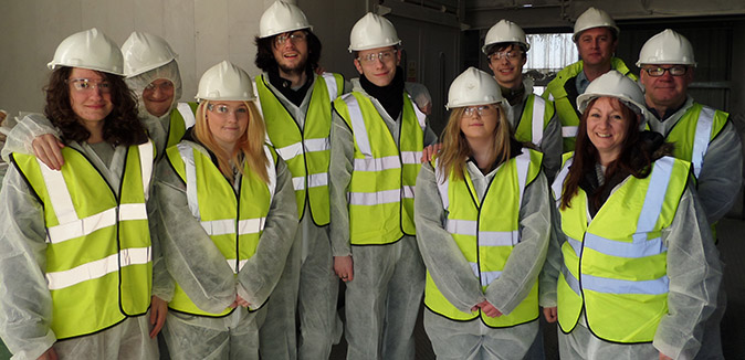 Belfast Metropolitan Centre visit 2014