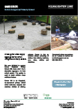 Aggregates used at Corran Integrated Primary School, Larne, Northern Ireland