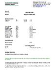Technical Data Sheet, Horticulture Fine