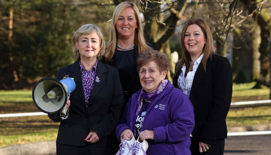 Kilwaughter Lime support NI Hospice Walk 2015