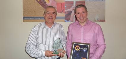Kilwaughter Chemical Co.Ltd staff pictured with INCA Award 2015