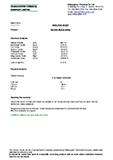 Technical Data Sheet, Silica Sand