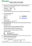 G Lime Product Safety Data Sheet