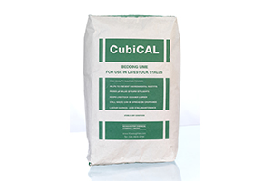 CubiCal bedding lime for livestock