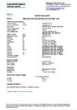 Technical Data Sheet, Limestone Grit