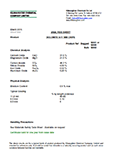 Product Safety Data Sheet, Dolomite Chips