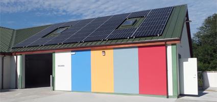 Kilwaughter Lime, Solar Panel Installation