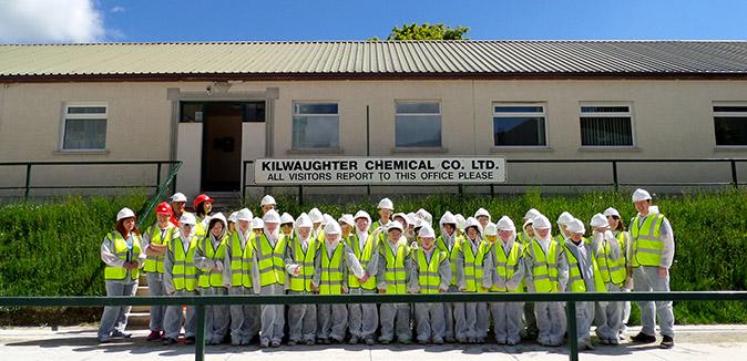 St Macnissis Primary School Larne School visit 2014