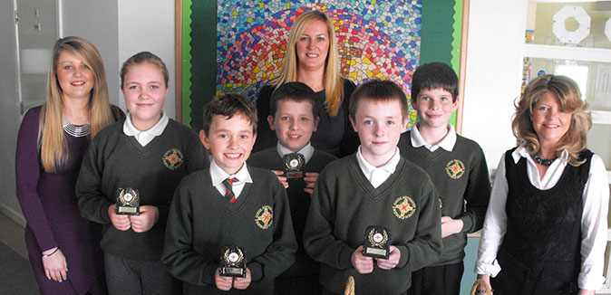 St Macnissis Primary School, Dragons Den 2014